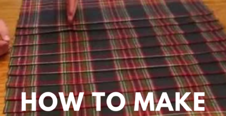 learn how to make a kilt, you can read our guide to make a kilt for yourself.