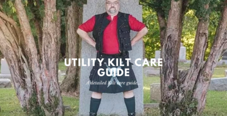 Utility Kilt care guide where I will update you with tips and tricks to increase the life of your utility kilt