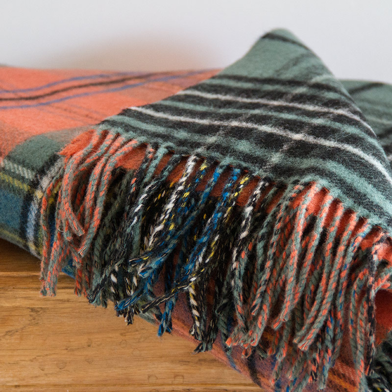 Learn How to make double Sided tartan Blanket. Follow the complete tartan blanket guide here.