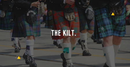 The Kilt is an extensive informative guide on kilts.